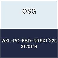 OSG 超硬ボール WXL-PC-EBD-R0.5X1゚X25 商品番号 3170144