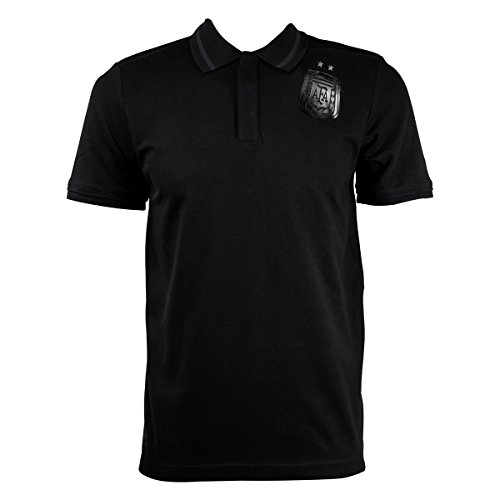 adidas AFA Argentina Polo Hombres Polo, negro, Medium