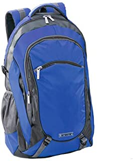 DISOK Mochila ORIZONS® Montaña Senderismo Trekking Camping Viaje Barata 50 L - Impermeable, Hombres y Mujeres (Azul)