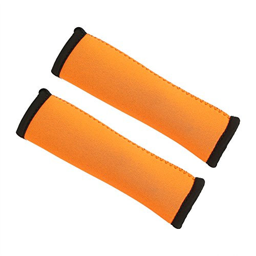 Vbestlife Kayak Paddle Grips 15cm Anti-Skid Diving Fabric Canoe Paddling Grips Efficient Paddling (Orange)