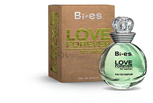 bi-es Love Forever grün Eau de Parfum Spray für Frauen 100ml