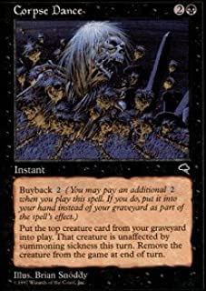 Magic: the Gathering - Corpse Dance - Tempest