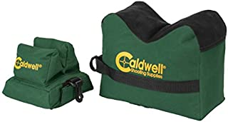 Caldwell DeadShot Boxed Combo (Front & Rear Bag) - Unfilled , Green/Black, 10
