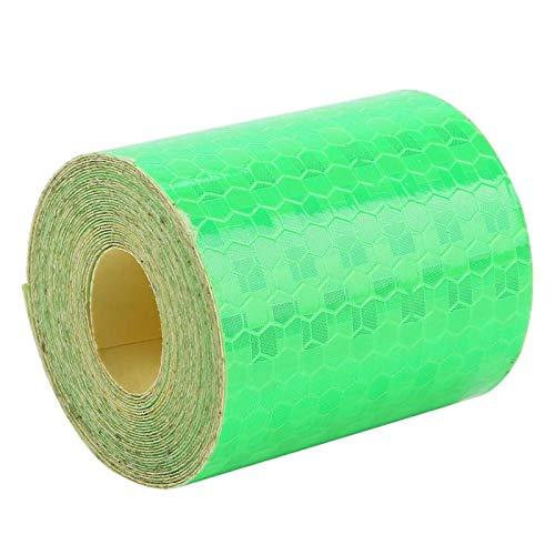 Adhesivo de seguridad práctico y duradero, ideal para bicicletas, camiones, remolques, botes para remolques, autos, bicicletas para conductores,(green)