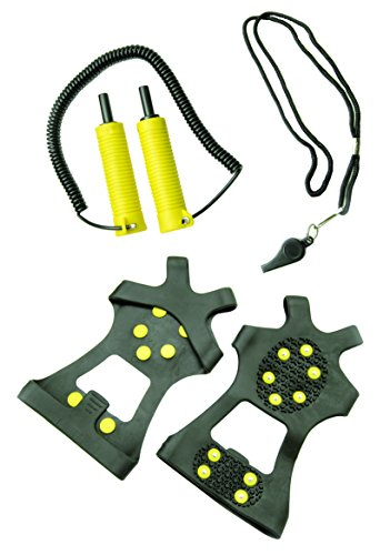 Frabill Ice Safety Kit, Black and Yellow