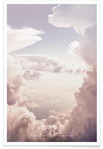"""JUNIQE® Himmel & Wolken Poster 30x45cm - Design """"Homecoming"""" entworfen von Sarah Bühler"""