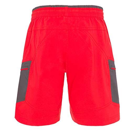 Trangoworld Guyanna Dn Pant. Short Unisexe. XL Rouge (Rojo/Sombra oscura)