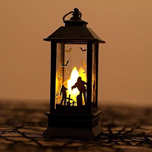 Hängelampen LED, Halloween Light Simulation Flammenlicht 2,5 Zoll für Holiday Dress Up