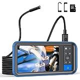 Teslong Zwei Linsen Endoskopkamera,1080P HD Endoskop mit 4,5 -Zoll -Farb-Bildschirm,...