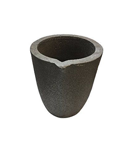 #10-12 Kg Foundry Clay Graphite Crucible Furnace Torch Melting Casting Refining Gold Silver Copper Brass Aluminum