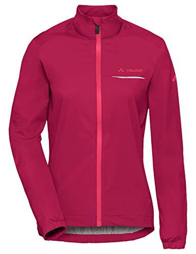 VAUDE Damen Strone Jacket Regenjacke für den Radsport, crimson red, 36, 408039770360