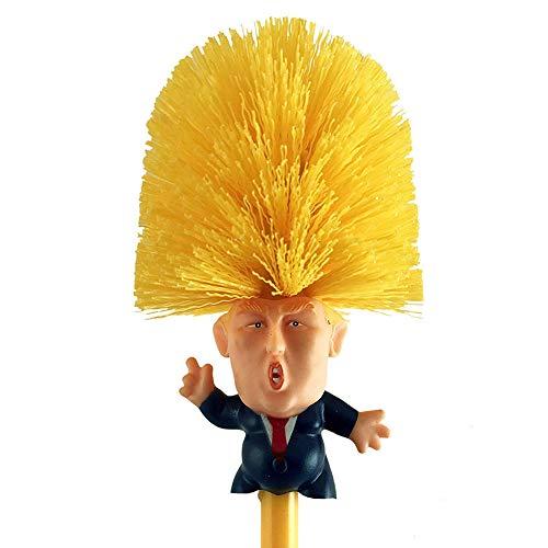 Mobi Lock Cepillo de Inodoro de Donald Trump - Limpiador de Taza ...
