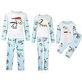TLLW Pijama de Navidad a juego hecho por elfos Pijama de Elfos de Navidad Familia Pijama de Papá Mamá, Grande, Pequeño y Mascota Elfo Familia Pijama de Navidad