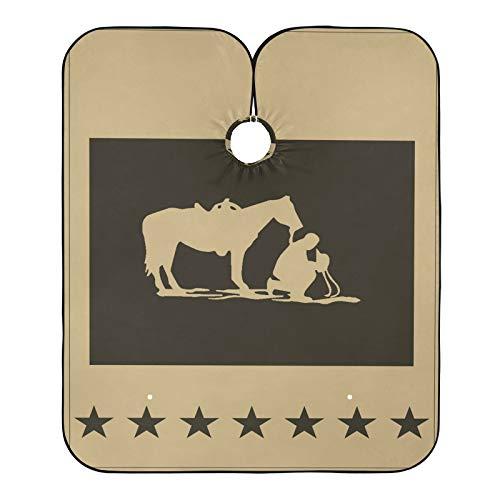 delantal vaquero corto de la marca LOVIVI