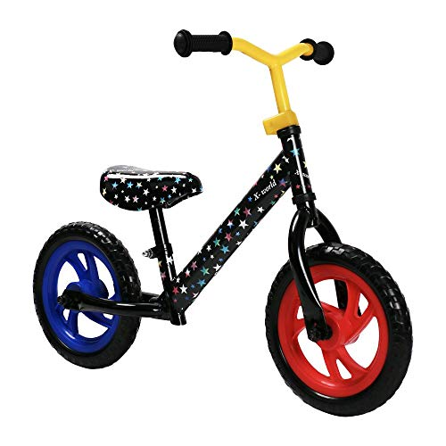 Read About JOYSTAR 12 Kids Balance Bike for Toddler 1.5-5 Years Old, Toddler Push Bike with EVA Pol...