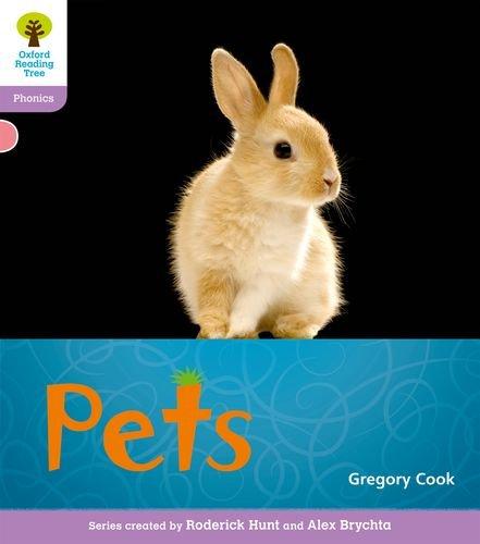 Oxford Reading Tree: Level 1+: Floppy's Phonics Non-Fiction: Petsの詳細を見る