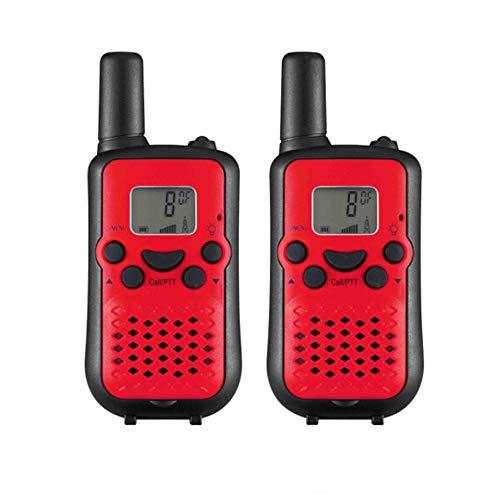 HUIGE Radios de Dos vías para los Adultos viajan, 0.5 w 8 Ruidos de los Canales Que cancelan Wakie-Talkie para los Juegos al Aire Libre caseros,Red