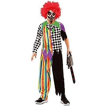 Disfraz Payaso demente para niños y adolescentes en varias tallas ...