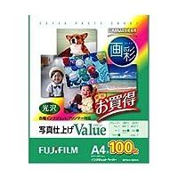 富士フイルム インクジェットペーパー 画彩 写真仕上げ Value A4 100枚 WPA4100VA