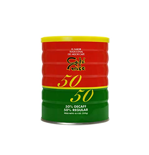 Café Rico 50/50 Half Decaf Half Regular Coffee 8.8oz Can