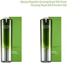 Nature Republic Ginseng Royal Toner 120 ml / 4.05 fl oz. & Emulsion 120 ml / 4.05 fl oz. Set
