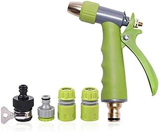 HYLAN Garden Hose Spray Nozzle Water Sprayer Gun Garden Sprinkler Car Wash Supplies All-copper Water Gun Metal Water Nozzl...