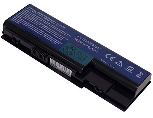 YASI MFG 14.8V 4800mAh Laptop Akku Acer AS07B42 AS07B52 AS07B72 AS07B32 für Acer TravelMate 7230 7530 7530G 7730 7730G Acer Extensa 7630G 7630EZ Acer eMachines E520 E720 G520 G720 Notebook Batterie