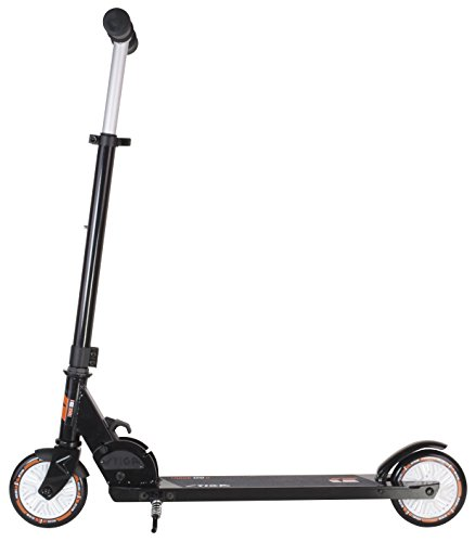Best Review Of STIGA Children's Track 120 s Kick Scooter, Black, One Size