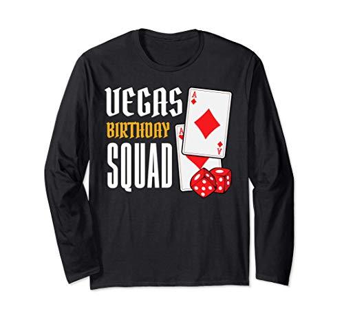 Viaje de vacaciones a Las Vegas Nevada Poker Manga Larga