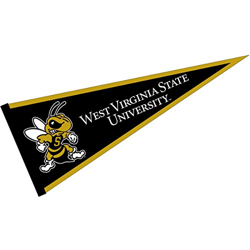 College Flags & Banners Co. West Virginia State Yellow Jackets Pennant