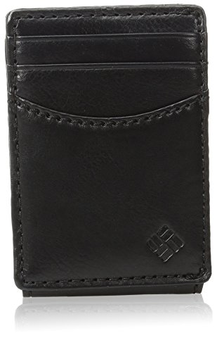 Columbia Men's RFID Security Blocking Slim Front Pocket Wallet,Granby Black