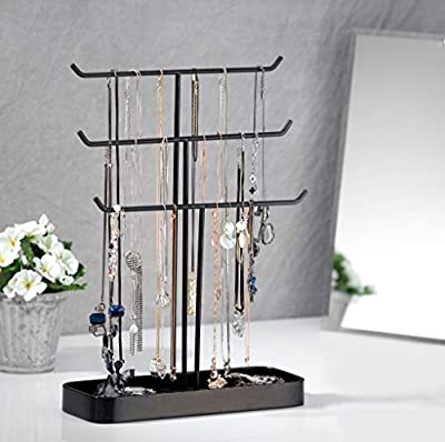 MK320 - Jewelry Hanger with 3 Iron Bars