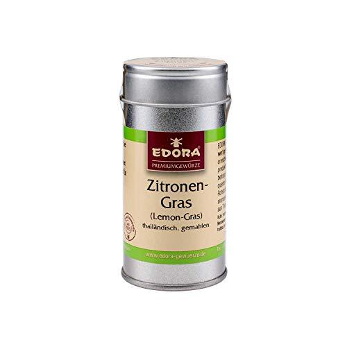Premium Qualität Gewürz EDORA Streudose Streuer Zitronengras gemahlen Lemongras aus Thailand 21 Gramm