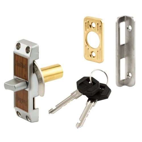 Defender Security S 4060 Deadbolt Loop Lock with Key, Aluminum Finish