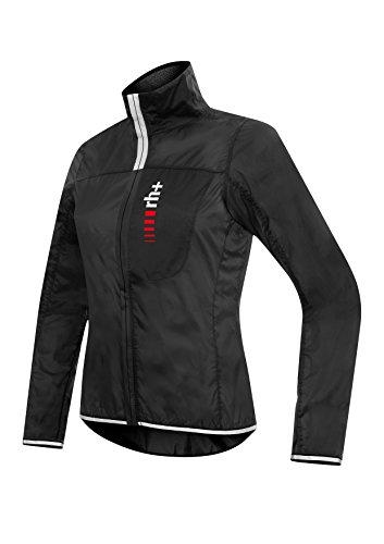 zero rh+ Damen Fahrradjacke RH+ Acquaria W Pocket Jacket, Black, L, SSCD3669001L