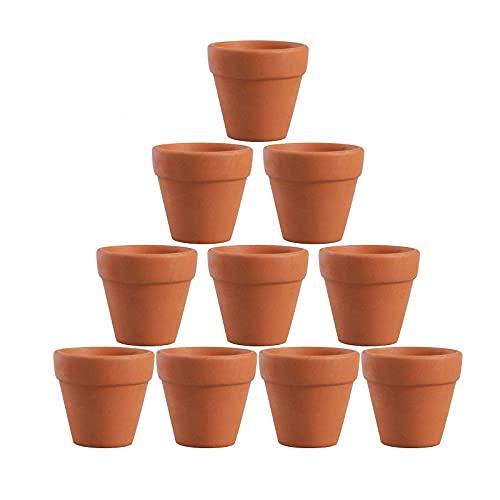植木鉢 ミニ 陶器鉢 多肉植物ポット フラワーポット 陶器 おしゃれ 10個セット 4.5x4cm