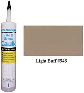 TEC Color Matched Caulk by Colorfast (Sanded) (945 Light Buff)