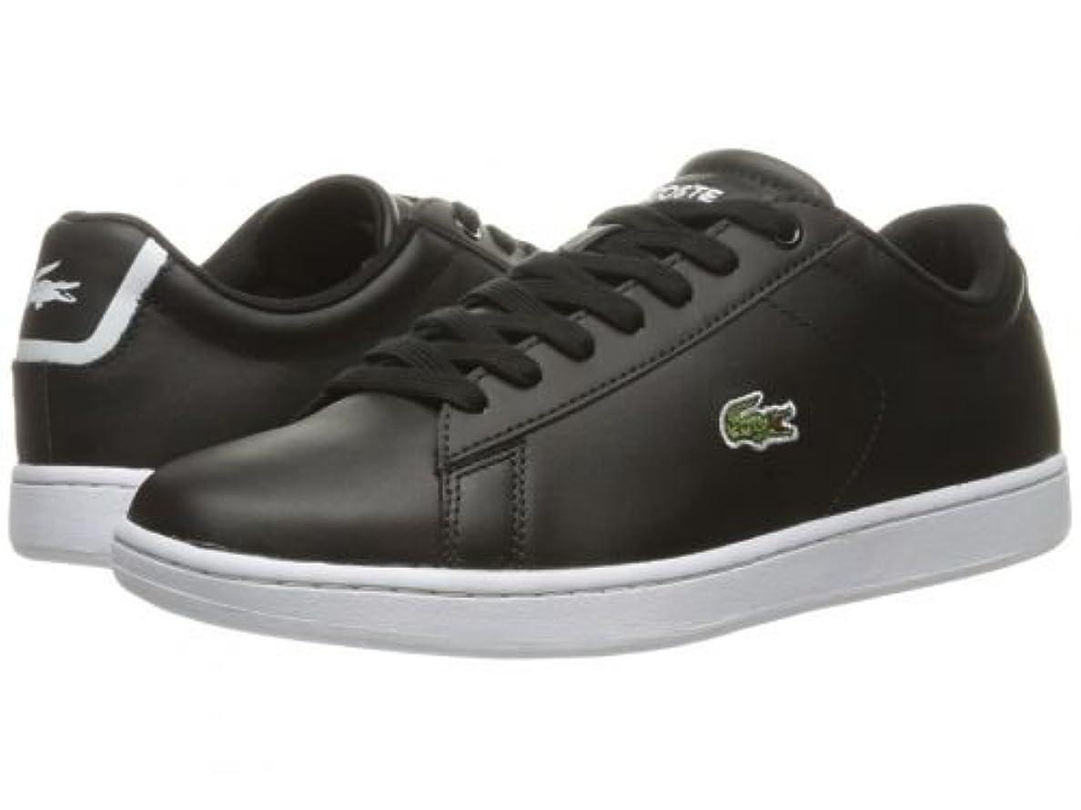 診療所いらいらさせる制限されたLacoste(ラコステ) レディース 女性用 シューズ 靴 スニーカー 運動靴 Carnaby EVO BL 1 - Black [並行輸入品]