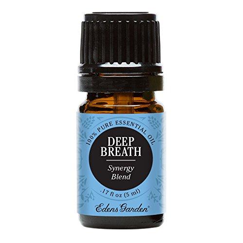 Edens jardín respiración profunda sinergia mezcla aceite esencial