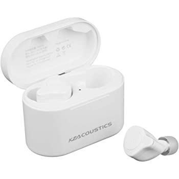 KZ S2(1BA+1DD)ハイブリット型完全ワイヤレスイヤホン二重磁気回路と30095 高域バランスド・アーマチュアを搭載した CVCクリアボイスマイク機能をもって Bluetooth 5.0バージョンに対応 耳へのフィット感を追及したデザイン 理想的な装着感と遮音性を実現したハイエンド完全ワイヤレスイヤホン (白色)