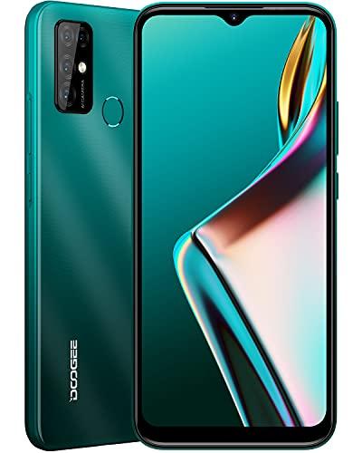 "DOOGEE X96 Pro 2021 Smartphone 4G,5400mAh Batteria Octa-Core 4GB RAM + 64 ROM Quad Camera 13MP + 2MP + 2MP + 2MP,6.52 ""HD + Schermo,Dual SIM Android 11 Cellulari Offerte,Verde"