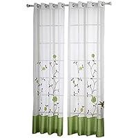 cortinas cocina puerta larga