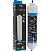 Filtro de agua externo universal para frigoríficos americano Samsung / LG / Haier / Whirlpool / Bosch / Siemens / Daewoo