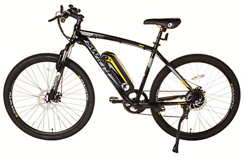 Swifty Electric Mountain Bike, Black/Yellow
