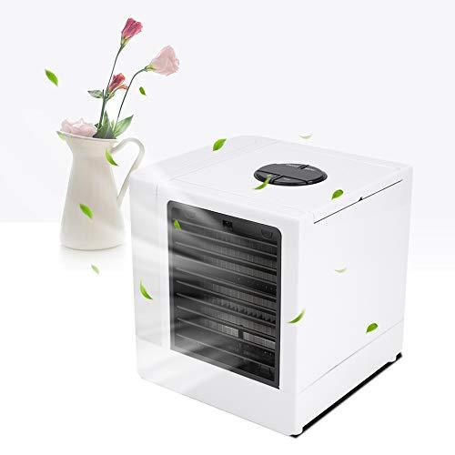 Mini ventilador de mesa, condicionador de ar portátil, para home office