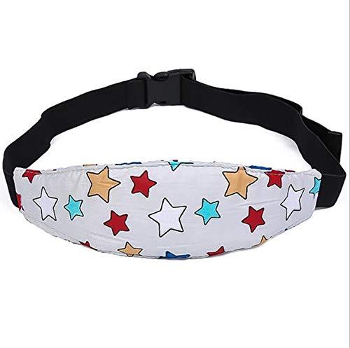 Einstellbare Kindersitz Befestigung Kopfband Autositz Schlafhaar Hilfe Kopfstütze Schlaf Kopfstützhalter Gürtel(1 PCS Zufällige Farbe)