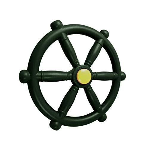 Piratenschiffrad, Gym Kingdom Spielplatz-Zubehör, Spielplatz-Lenkrad für Kinder, Outdoor-Spielhaus, Baumhaus, Hinterhof-Spielset oder Schaukel.