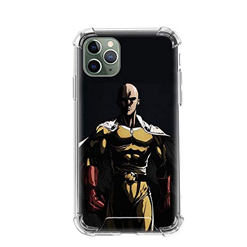 Tznzxm Bleach One Punch Man Funda iPhone Airbag Anti-Fall Clear Soft Phone Cover Color_09 For Funda iPhone 6 Plus/Funda iPhone 6S Plus Cases