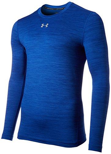 Under Armour Ua Cg Twist Crew-Ryl//Stl T-Shirt de Protection Thermique Homme, Royale, FR : XXL (Taille Fabricant : XXL)