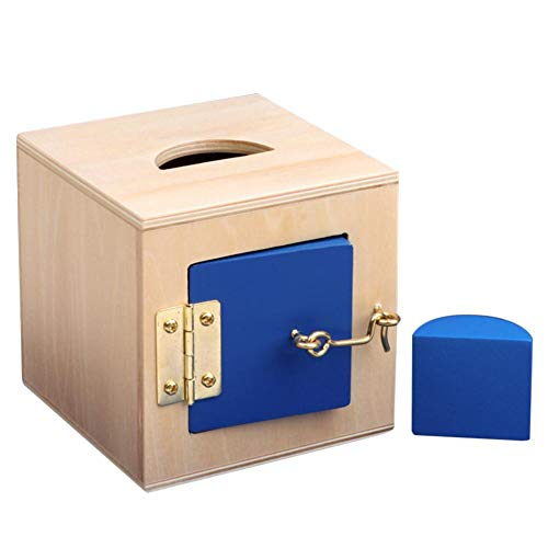 Schildeng Für Montessori Baby Shape Box, Vorschule Infant Coin Box Lernmaterial